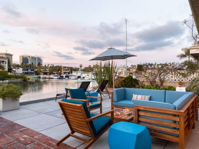 Photo for Bay Breeze by AvantStay |  Bayfront Home w/ Private Dock in Balboa Peninsula
