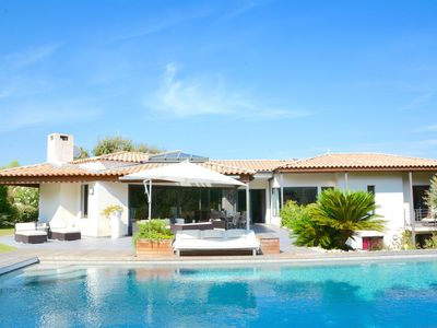 Photo for SUPERB MODERN VILLA WITH POOL IN EXCLUSIVE MONTPELLIER SETTING