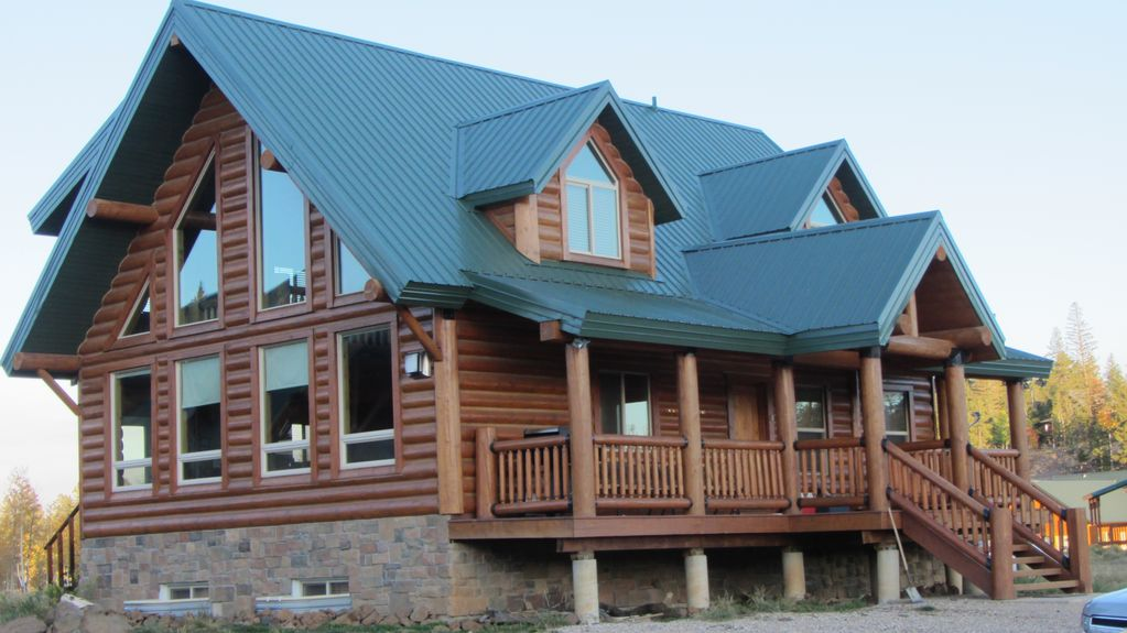Luxury cabin between bryce canyon and zion national park for Bryce canyon cabin rentals