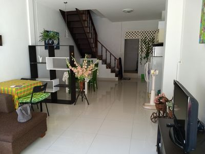 Photo for 2 Bedroom Townhouse, 400m to beach, 200m to Royal Palace. Great part of Hua Hin