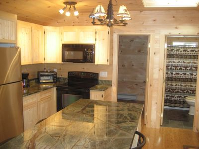 Newly Renovated Rustic Cabin  walk to the lake