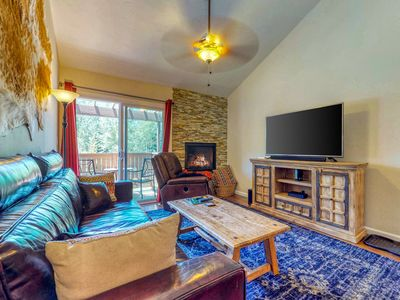 Photo for NEW LISTING! Ideally located mountain retreat near skiing, golf & fishing