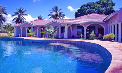 Photo for Oceanfront Villa In North Coast Near Mombasa | Staff, 16m Pool, 6000m² Park, A/C