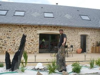 Photo for GROUP LODGING LE PETIT FRESNAY WITH INDOOR SWIMMING POOL