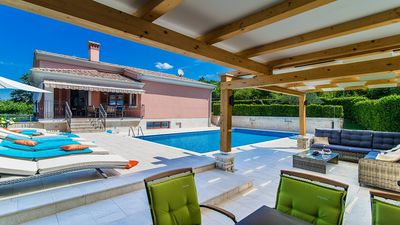 Photo for Villa Martha - Large Villa with Private Pool Ideally located just 15 minutes from the Picturesque Resort of Rovinj ! - Free WiFi