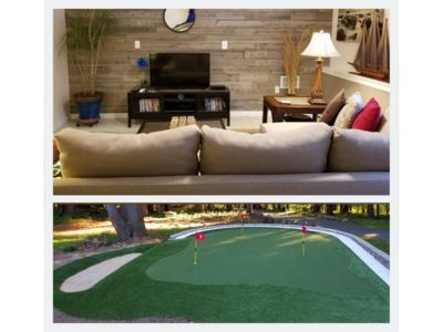 Our guests really enjoy our new putting green!