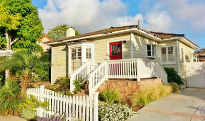 Photo for Beautiful 1940's La Jolla Beach Cottage and Gardens
