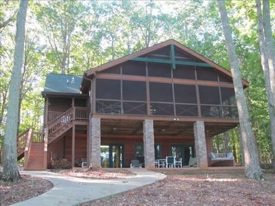 3br Cabin Vacation Rental In Lake Oconee Georgia 160741