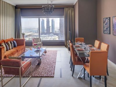 Photo for Spacious 48 Burj Gate - 4301 apartment in Downtown with WiFi & lift.