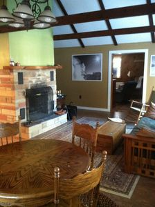 Photo for 1,200 Square foot chalet. 15 minutes to Mt. Snow.  WIFI