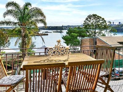 Photo for CLIFT - A Lovely refurbished 1BR in Balmain Set Overlooking the Harbour