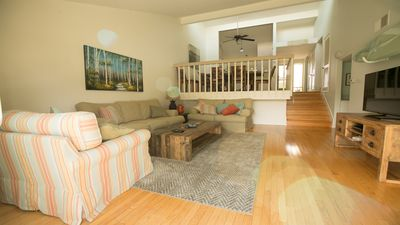 Photo for STEPS FROM THE BEACH, COMFORTABLE 3 BEDROOM 2 BATH COASTAL PROPERTY!!