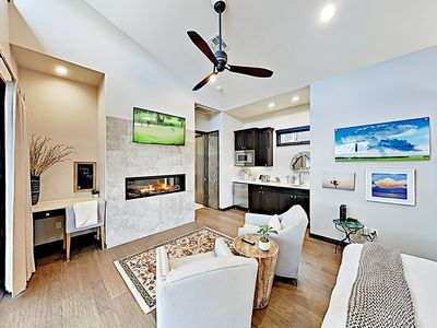 Photo for New Listing! Pool, Lazy River & Marina Access at Luxe Lake Travis Studio