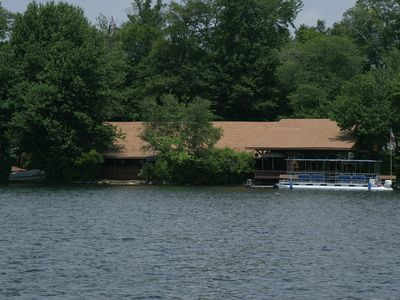 Photo for An Island In A Lake In Connecticut-Sleeps As Many As 39-Its All Waterfront