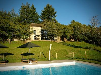 Photo for 'La Maleyrie'   Beautiful holiday house and large pool for exclusive use
