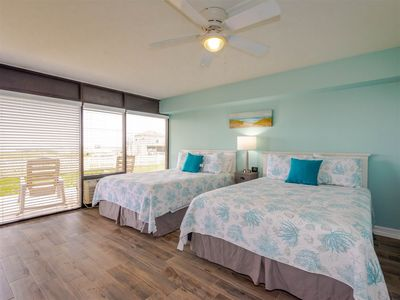 Photo for Sunrise views from the front porch! Ground floor studio condo with Pool, Hot Tub, Fishing Pier!