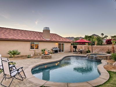 Photo for Luxurious La Quinta Home w/Pristine Pool & Spa!
