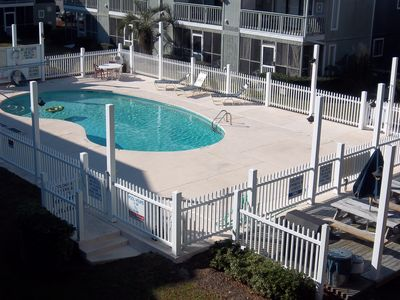 Photo for Golf Colony Resort Come stay at this cute 1bd villa right by the beach! 28D
