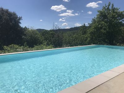 Photo for Character house with Pool in the stunning Cevennes mountains