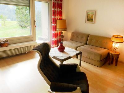Photo for Apartment in the center of Saint Moritz with Lift, Parking, Washing machine, Terrace (61339)