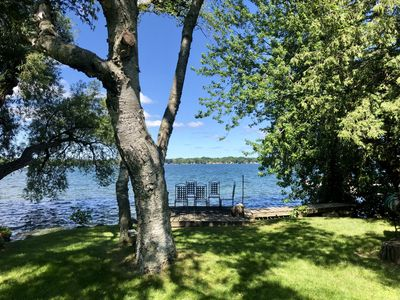 Photo for Stunning lake front property with a guest house