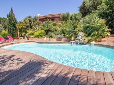 Photo for 10 minutes walk from the beach of Saint Cyprien, by trails.