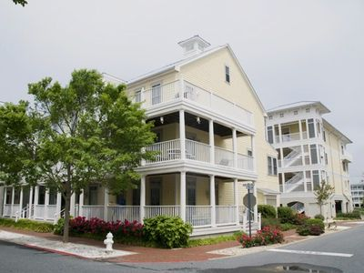 Photo for End Unit Townhome in Bayside Resort - Professionally Decorated, Wi-Fi, Pools,