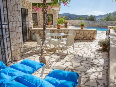 Photo for KALKAN  Ground floor apartment with private garden. 5 mins to town