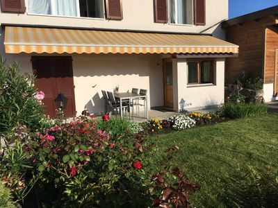 Photo for 1BR Apartment Vacation Rental in faulensee