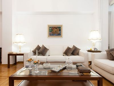 Photo for Beautiful apartment in the center Megaro Mousikis