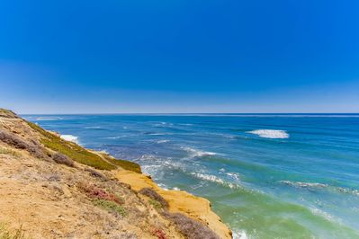 You are right on the gorgeous Sunset Cliffs