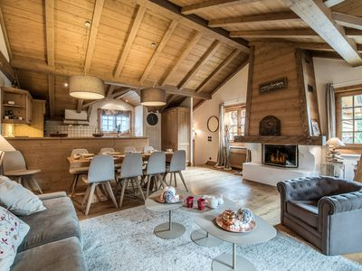 Photo for 100 sqm apartment, duplex in Courchevel