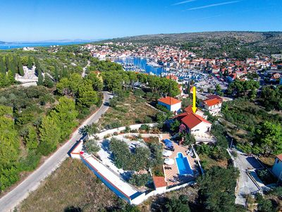 Photo for Villa Bravura, (13633), Milna, island of Brac, Croatia