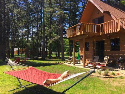 Photo for Cozy River Cabin near Cuyuna ~ Enjoy Fishing, Biking, Kayaking, and Relaxation!