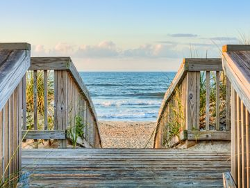 Beach, Outer Banks, NC, USA