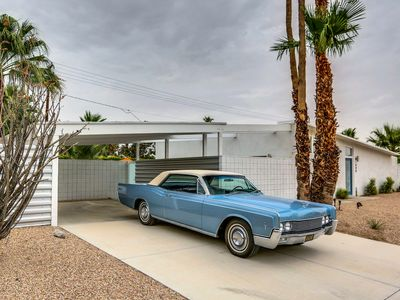 Photo for Mid Century by Alexander Homes. Wm. Krisel design, 1959 luxury w/pool,spa & view