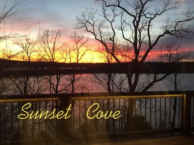 Sunset Cove - Premier Lakefront Vacation Home with Private Dock