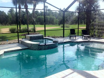 Photo for Renovated Home With Private Pool & Spa, Golf, Tennis And Club H