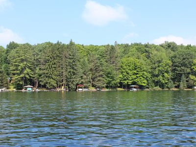 Photo for Rushford Lake Waterfront with Plenty of Docks and Decks