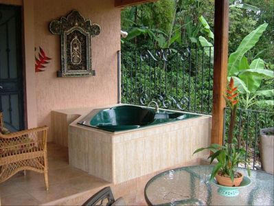 Rental Villa Outdoor Jacuzzi