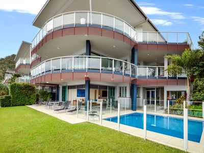 Photo for Pavillion 17 - Waterfront Spacious 4 Bedroom With Own Inground Heated Pool And Golf Buggy