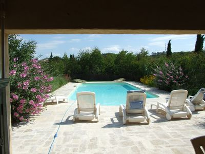 Photo for Pleasant apartment 18 km from Uzes