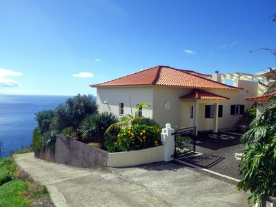 Photo for 'Casa do Gabriel' spacious Madeirian villa with private garden and ocean view
