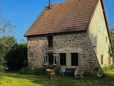 Photo for Nicely restored, authentic cottage in the Auvergne region, perfect for couples!