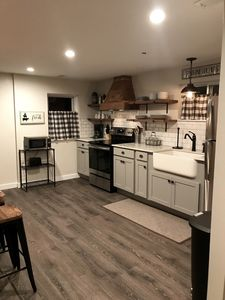 Photo for Chic Farmhouse style 2 Bed Motel Suite, A/C, Walk to the GOTL Strip!