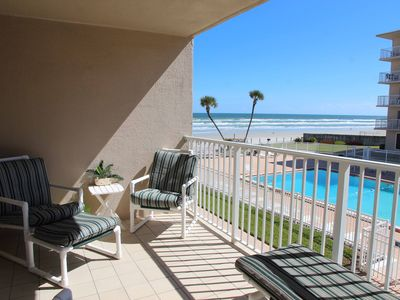Photo for Sunrise view over the ocean in this direct ocean front complex!