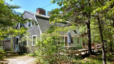 Photo for Nice 4BD Home--A/C, Only 0.8 MI to Bay Beach or Wellfleet Center