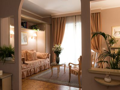 Photo for Standard Bellini apartment with buffet breakfast included (4 persons)
