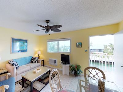 Photo for NEW LISTING! Canal front condo w/amazing views,, convenient location