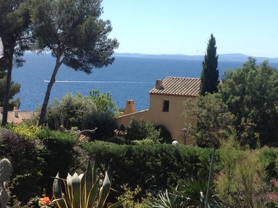 Photo for BASTIDON SEA VIEW WITH POOL AND TENNIS IN BOULOURIS
